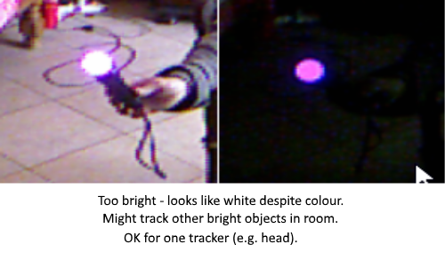 Kinecct 360 colour tracking problem