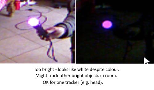 Kinecct 360 colour tracking problem